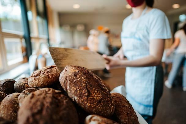 Slow Food Schulen frisches Brot