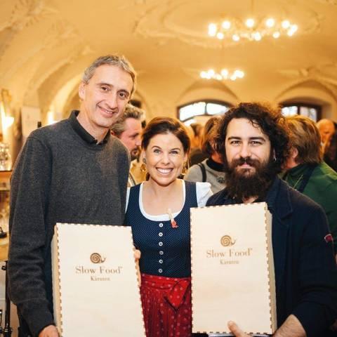 Slow Food Village Verleihung in Wernberg