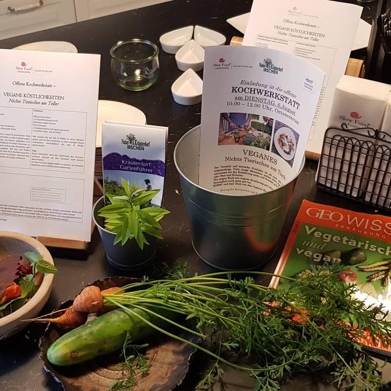 Kochwerkstatt Irschen Veganes