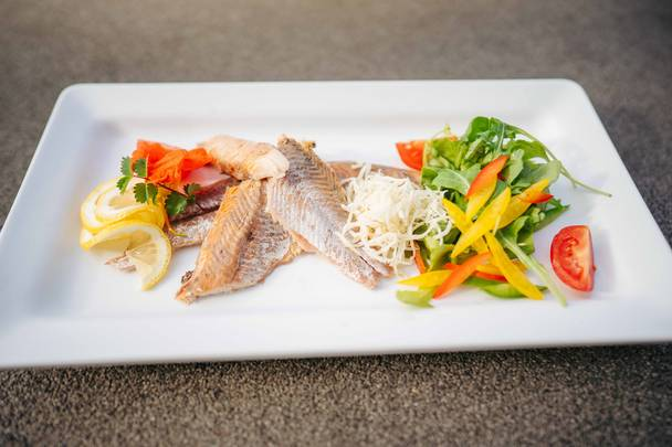 Slow Food Village Millstatt Fischgericht