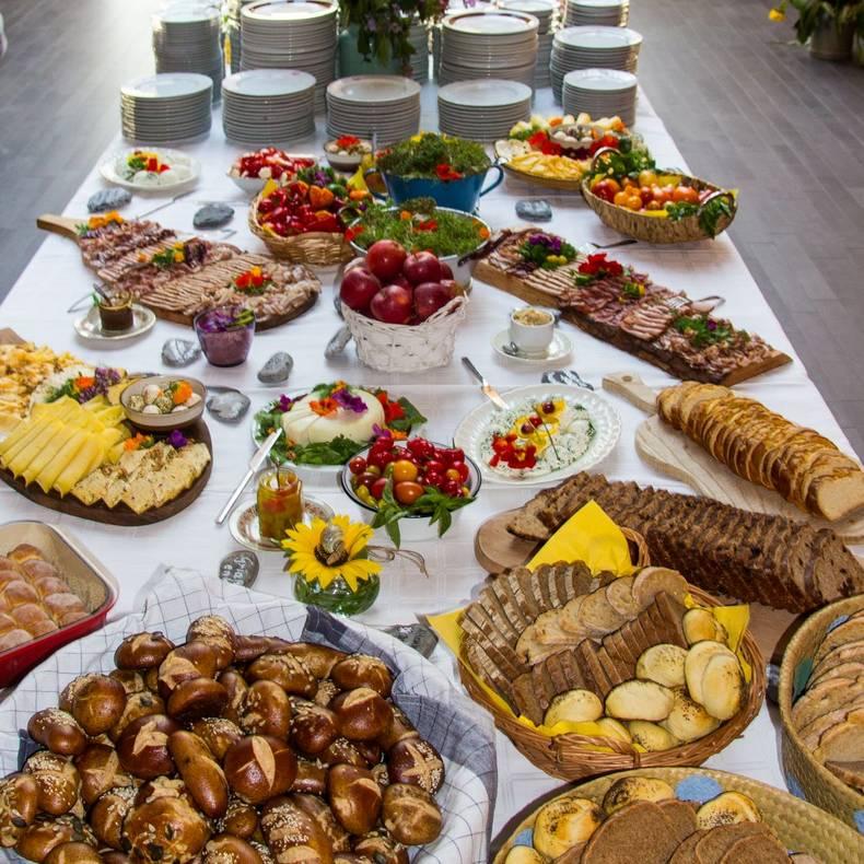 Die Berger Slow Food-Frühstückstafel