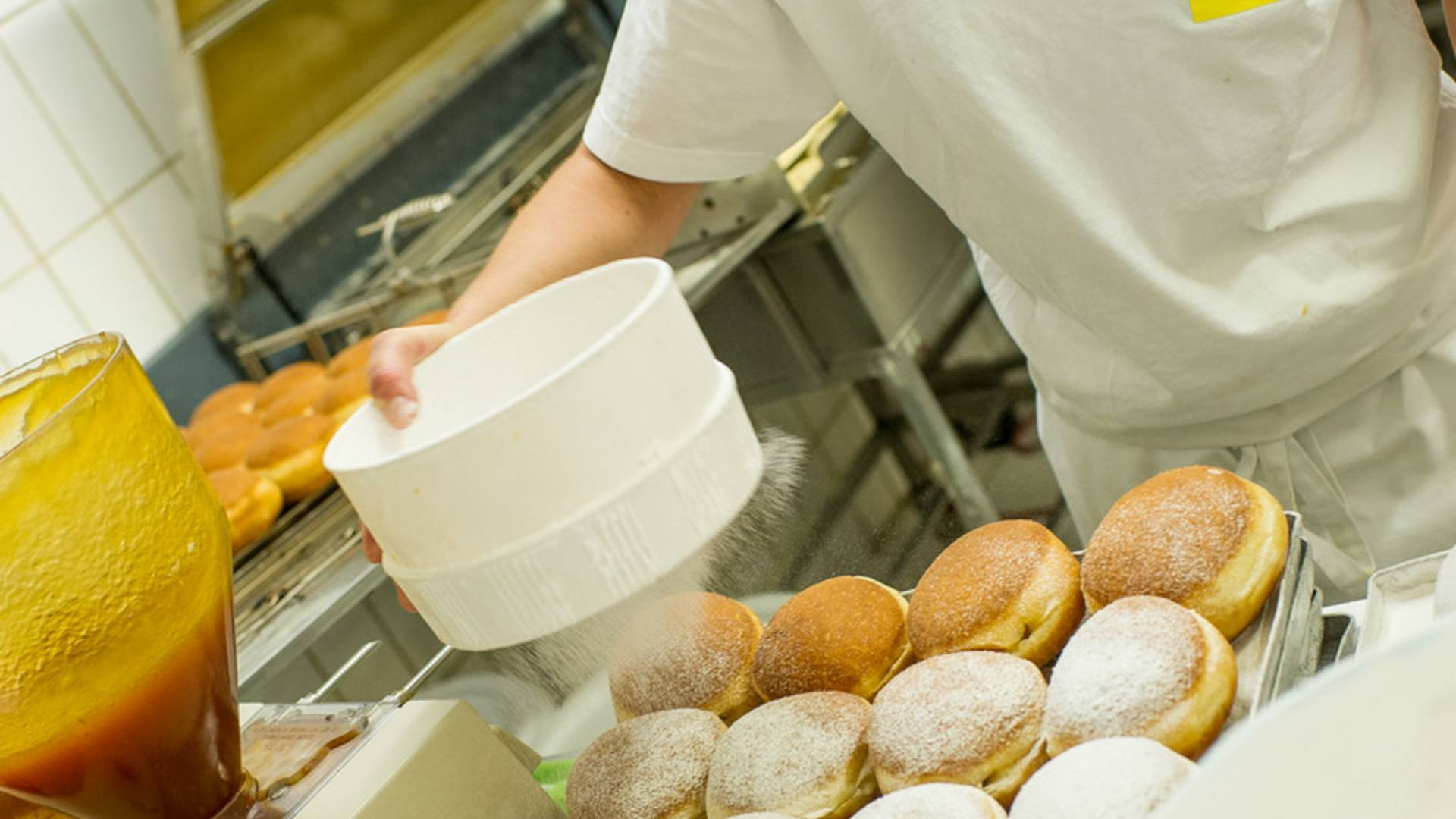 Faschingskrapfen Bäckerei Wienerroither