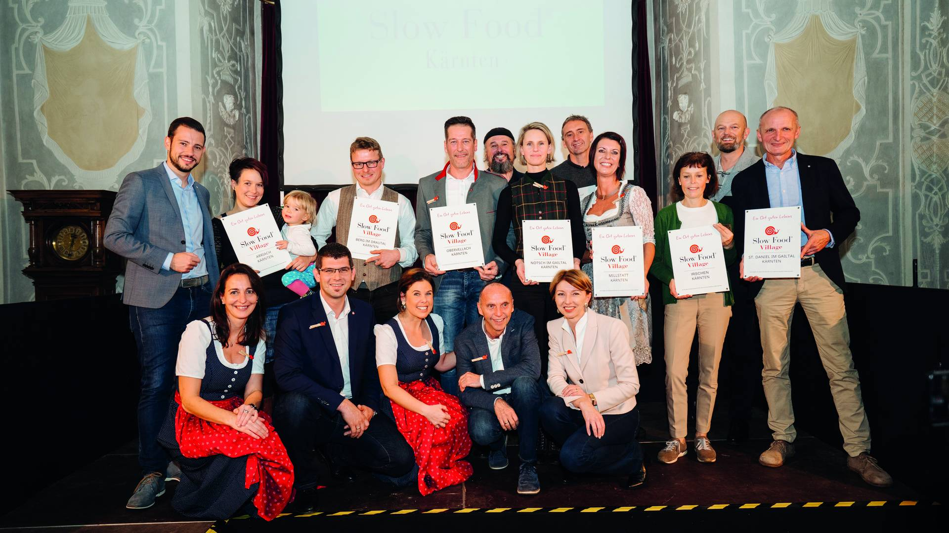 Slow Food Villages Verleihung im Kloster Wernberg